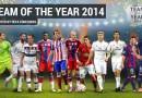 Fotbalovou jedenáctku pro rok 2014 volilo rekordních 8,6 miliónu hlasujících