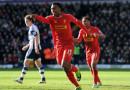 Liverpool remizoval s West Bromwich, United prohráli se Stoke