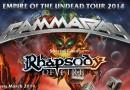 Reportáž: Gamma Ray, Rhapsody of Fire a Elvenking