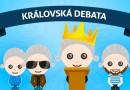 V královské debatě se utkají všichni kandidáti a představí jejich program