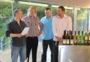 """Ochutnávka """"Tři vinařství od Dubňanské hory"""" dne 30.6.2014, Viniční altán – Grébovka"""