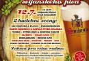 Narozeninové Slavnosti svijanského piva již tuto sobotu