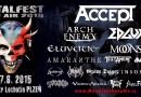 Oznamujeme program festivalu Metalfest Open Air Plzeň 2015!